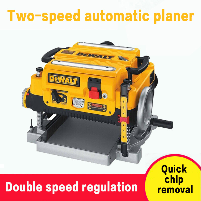 Power Tools DW735 Two-speed Speed Control Planing Automatic Planing Wood Electromechanical Planing Planing Planer Planer