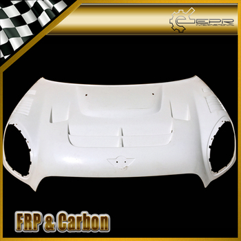 FRP Hood Trim For R60 Countryman Duell AG Glass Fiber Vented Hood Body Kit Tuning For MINI R60 Countryman