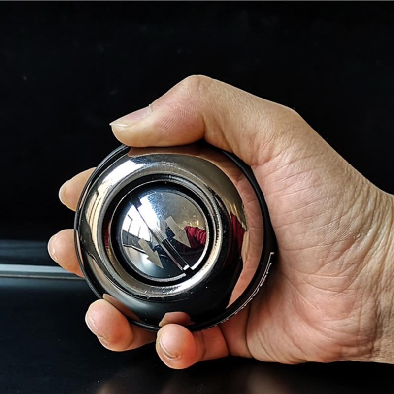 Démarrage automatique renforcer métal puissance poignet balle avant-bras entraînement musculaire balle gyroscopique avec lumière LED PowerBall avec sac F2039