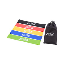 Elastic Resistance Bands for Fit Exercise Fitness Gym Yoga Loop Band Set Workout Pull Rope up Strength Training Gear