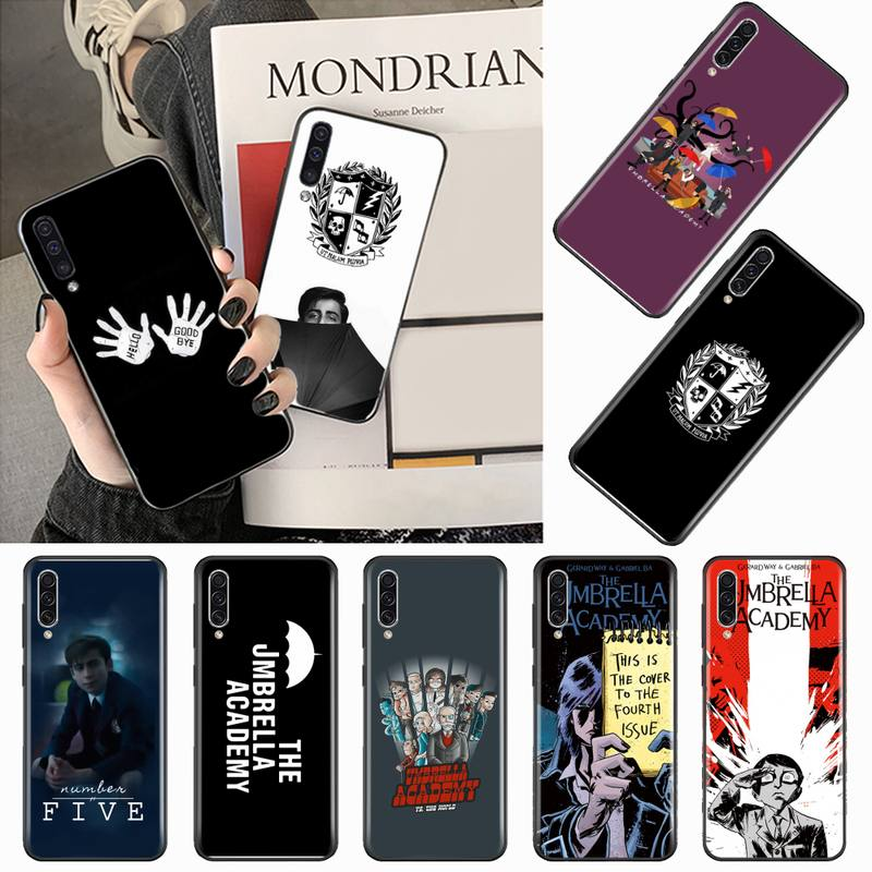 The Umbrella Academy pattern carcasa Phone Case For Samsung galaxy S 9 10 20  A 10 21 30 31 40 50 51 71 s note 20 j 4 2018 plus