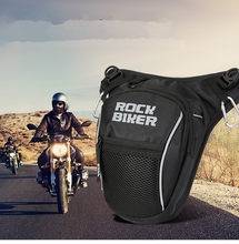 2019 Motorcycle Men Travel Hip Bum Fanny Pack Cell Phone Case Purse Belt Male Shoulder bag Waist Bags Oxford Leg Bag Drop Backpack(China)