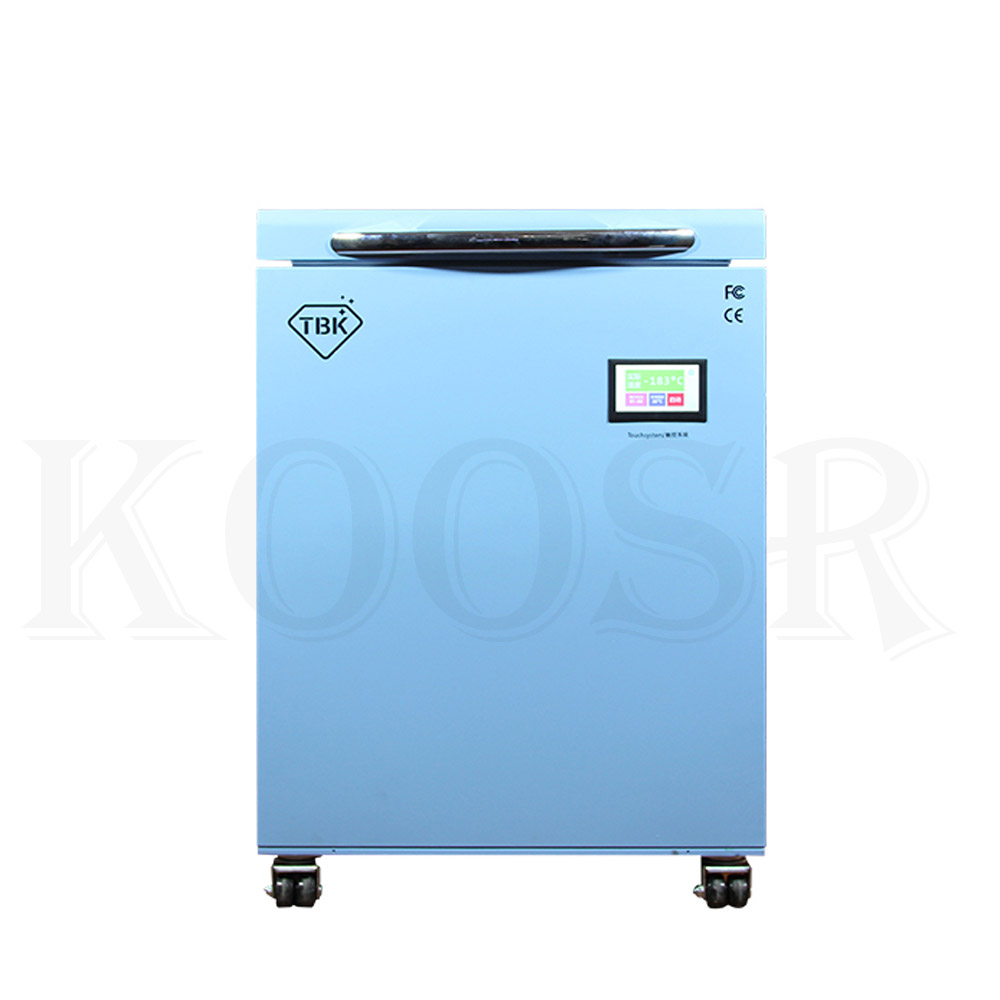 TBK-588A LCD Freezing Machine With -200C Lowest Working Temperature 1