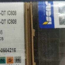 10 pces carboneto de inserção somx 060304-dt ic808