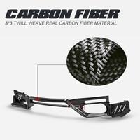 Car-styling TS Style Carbon Fiber Rear Lip Fibre Bumper Splitter For Nissan MY17 R35 GTR (Only Use with Top Secert Rear Bumper)