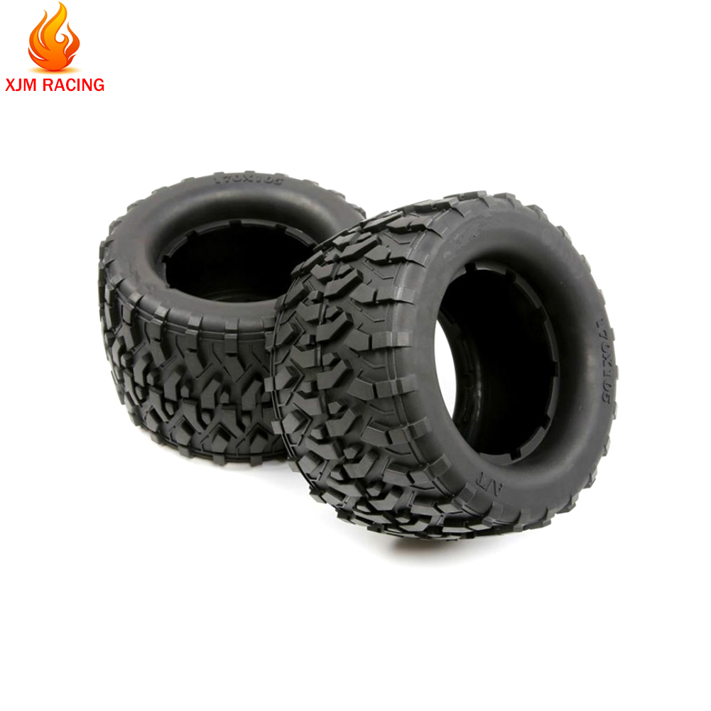 All Terrain Tires Tyre Skin for 1/8 HPI Racing Savage XL FLUX Rofun Rovan TORLAND MONSTER BRUSHLESS TRUCK Rc Car Toys PARTS image