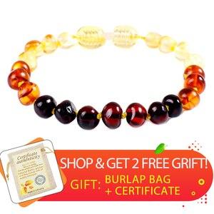 Baltic Natural Amber Bracelet/