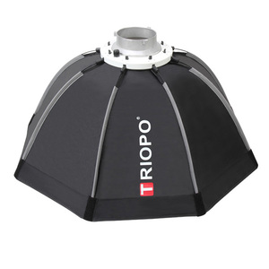Image 3 - TRIOPO 120cm Bowens Mount Portable Octagon Umbrella Outdoor Video Softbox w Carrying Bag for Photography Studio Soft Box