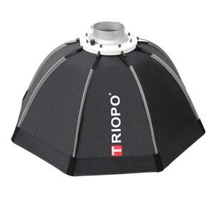 Image 3 - TRIOPO paraguas portátil de 120cm con soporte Bowens, sombrilla de vídeo de exterior, bolsa de transporte con bolsa para estudio de fotografía