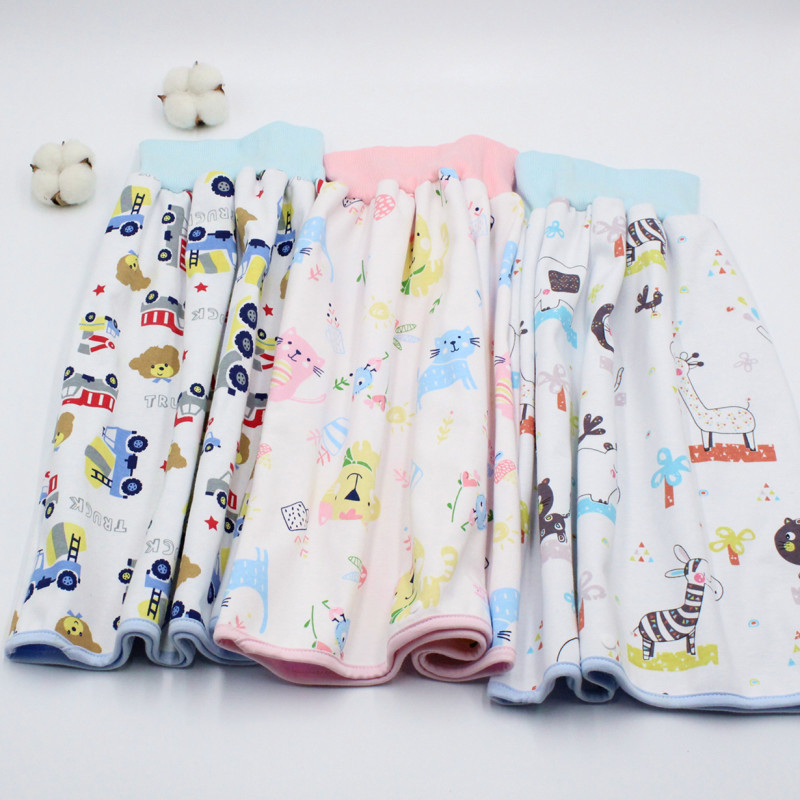 New Reusable Baby Diapers Cloth 100% Cotton Washable Baby Care Eco-friendly Diaper