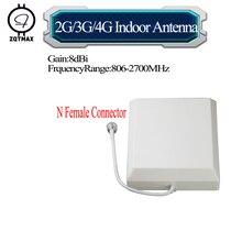 ZQTMAX 806   2700MHz 2G 3G 4G CDMA GSM DCS PCS UMTS LTE פנל אנטנה עבור נייד טלפון סלולרי אותות בוסטרים