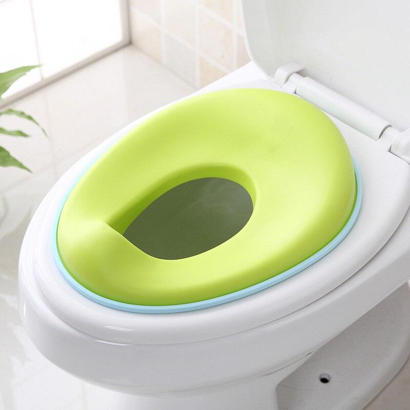 Children Kids Circle Pedestal Pan Men's Chamber Pot Toilet Seat Women's Pedestal Pan Kids Cushion Cover Seat Washer Extra-large
