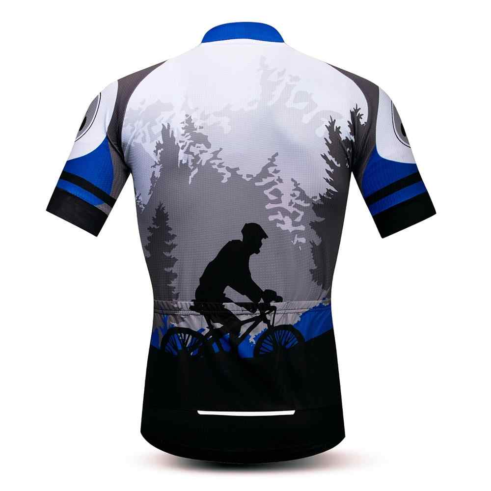 2020 ขี่จักรยาน JERSEY Men's Jerseys BIKE Mountain Road MTB เสื้อแขนสั้น Maillot Ciclismo ฤดูร้อนจักรยานเสื้อผ้า Skull