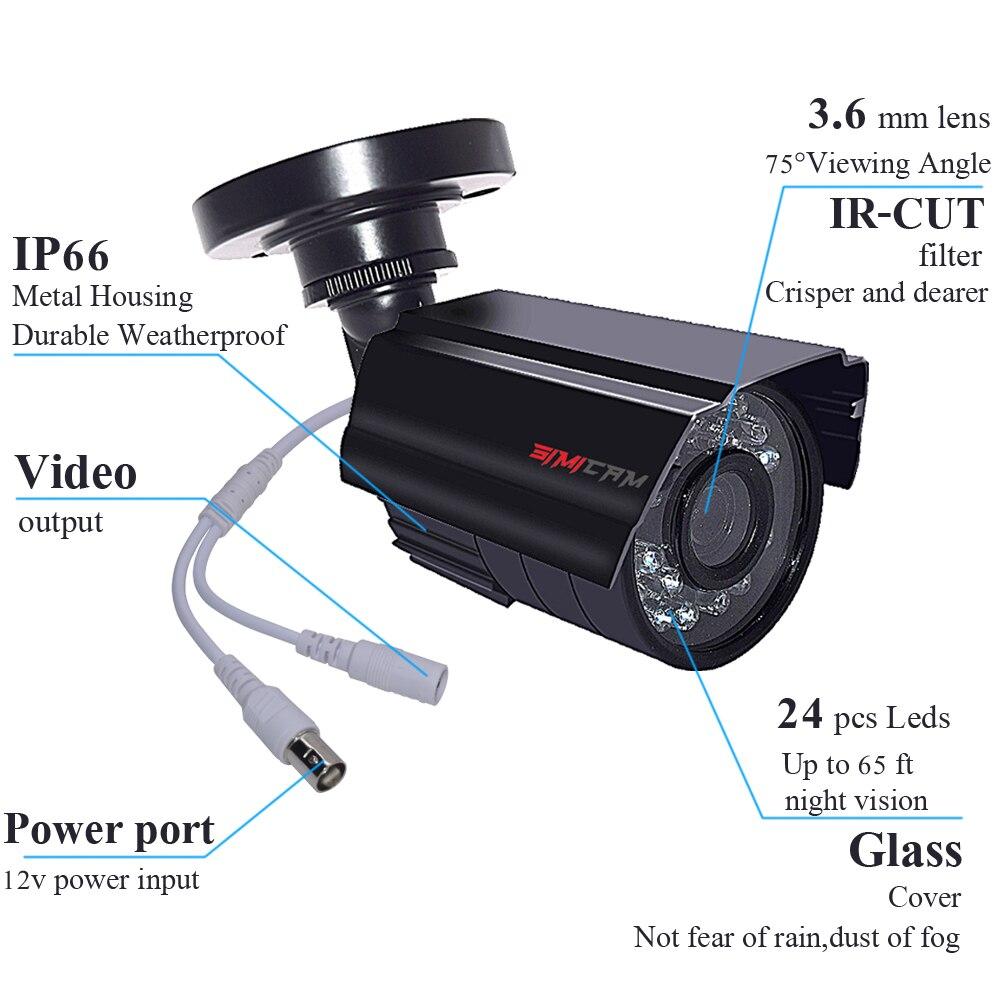 ahd kit câmera ao ar livre 720