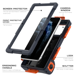 Image 5 - Professional Diving Case For iPhone 11 Pro Max X XR XS Max Case 15 Meters Waterproof Depth Cover For iPhone 6 6S 7 8 Plus Coque