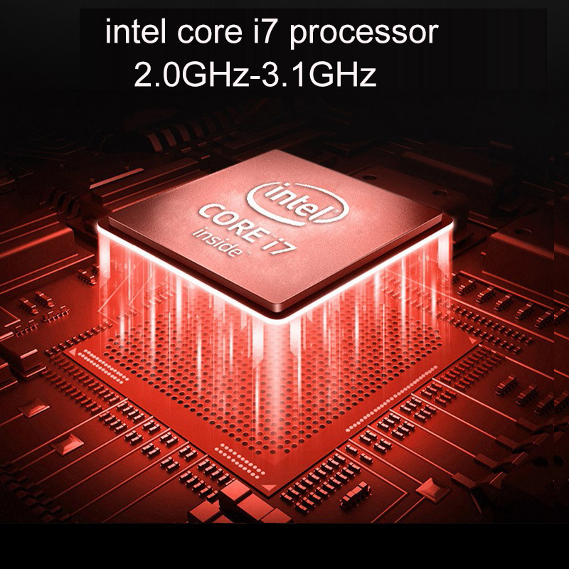 2020 Новое поступление 15,6 дюймов 1920*1080 IPS Экран Core i7 DDR3 16 Гб 128 г/256 г/512 г/1 ТБ SSD металл с подсветкой на базе Windows 10