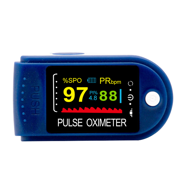 ELERA Portable Finger Pulse Oximeter Blood Oxygen Saturation meter Fingertip Pulsoximeter SPO2 Monitor Oximetro dedo Oximeter 5