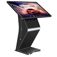 43inch floor stand advertising LCD signage self service digital touch screen electronic information interactive kiosk