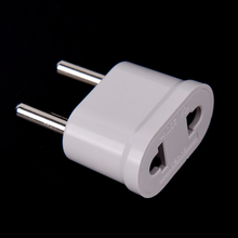 1 Pcs Eu Kr Plug Adapter Japan Cn Ons Eu Euro Europese Travel Adapter Elektrische Plug Power Cord Oplader sockets Outlet