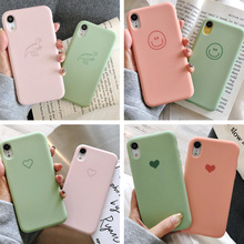 New liquid silicone color mobile phone case for iPhone X XS XR XSMax 8 7 6 6S PluSTPU soft drop protection cover