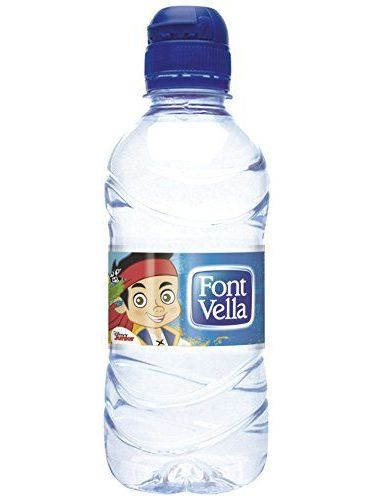 Font Vella - Agua Mineral Natural 0,33 L Tapon Sport