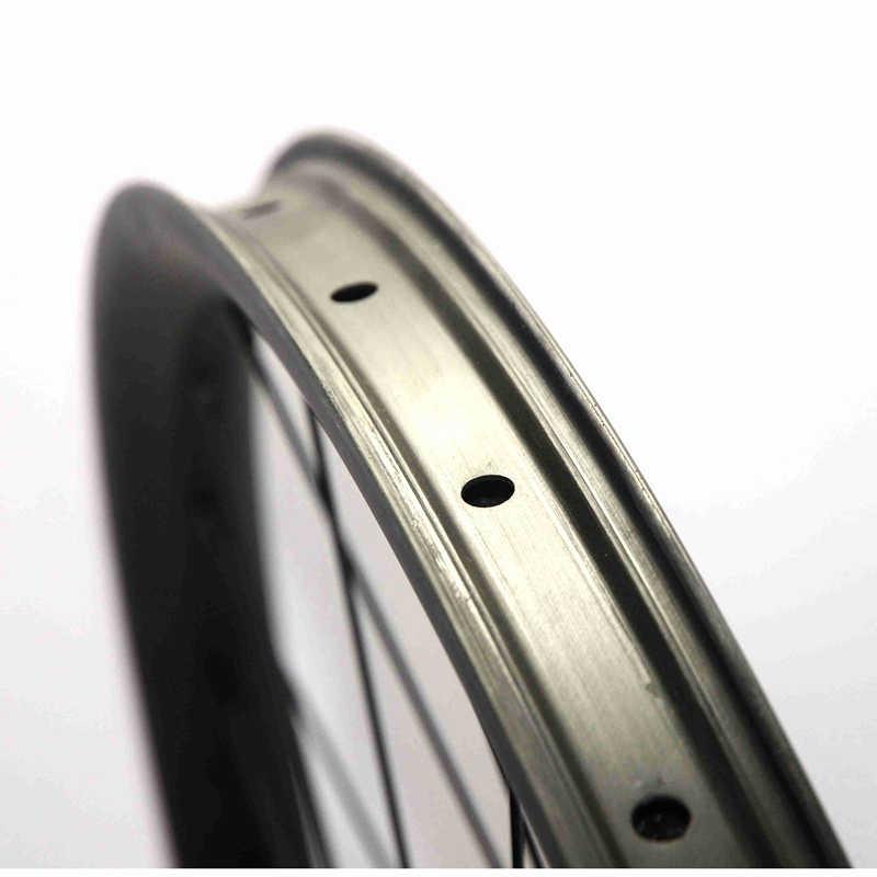 Rodas de disco de pouco peso 29er mtb xc 30mm x 25mm hookless carbono rodado 6 parafuso
