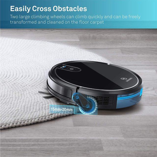 MT-710 Wi-Fi Robot Vacuum Cleaner 1800PA Suction Smart Memory Smart Life App Control Self-Charging Robotic Vacuum 5