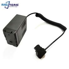 DTAP to VW-VBG6 Battery Coupler for Panasonic Camera AG-HMC71MC AG-HMC43MC AG-HMC155 AG-HMC83MC AG-HMC-150CM AG-HMC70U patriot ag 115m
