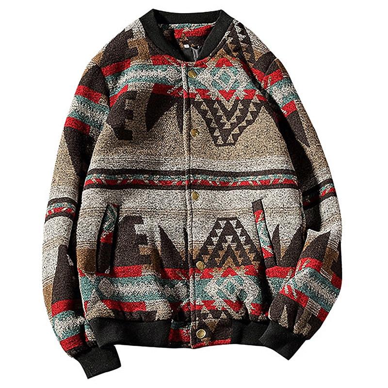 Streetwear Hip Hop 5XL Men Jacket Coat Black Bomber Jacket Men 2019 Woollen Thick Men Jacket Coat Man Winter Coats