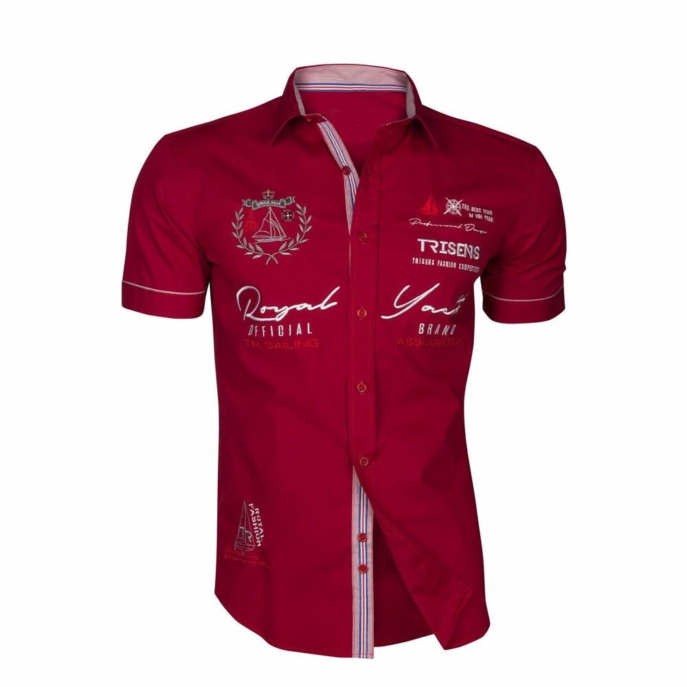 Zogaa 2020 Summer Men Casual Shirts Slim Fit Men's Casual Button Down Shirt Short Sleeve Formal Dress Shirts Men Male Clothing 2