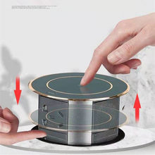 Automatic Pop Up Socket With USB Wireless Charge Intelligent Hidden Retractable Plug Home Office Waterproof Table Sockets
