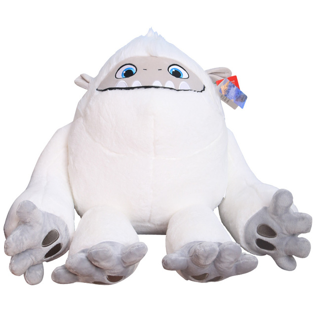35-55CM White Movie Abominable Monster Snowman Everest Plush Figure Toy Soft Stuffed Doll Gift for Kids Funny
