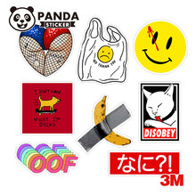 Skateboard Fashion Brand Logo Waterproof Stickers For Luggage Car Laptop Motorcycle bicycle decal Stickers