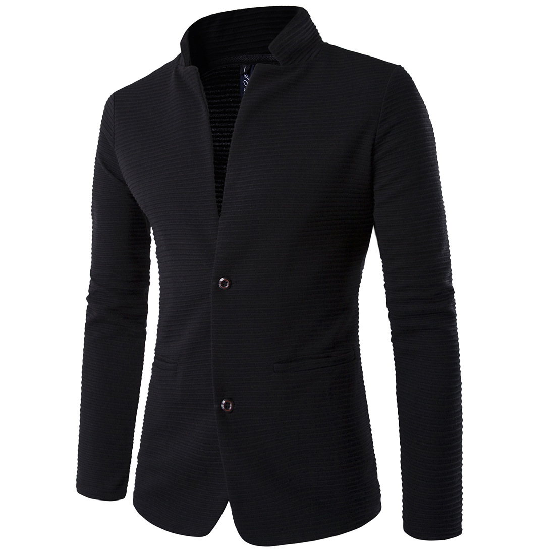 Men'S Wear Autumn And Winter Korean-style Casual Coat Stand Collar Suit Slim Fit Joint Suit Xy618