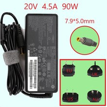цена на 20V 4.5A 90W Replacement AC Adapter Charger For Lenovo Thinkpad E420 E430 T61 T60p Z60T T60 T420 T430 F25 Notebook Power Supply