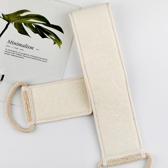 1PC Sisal Bath Shower Body Washing Clean Exfoliate Puff Scrubbing Towel Cloth Scrubber Soap Bubble For The Bath Like Loofah 4