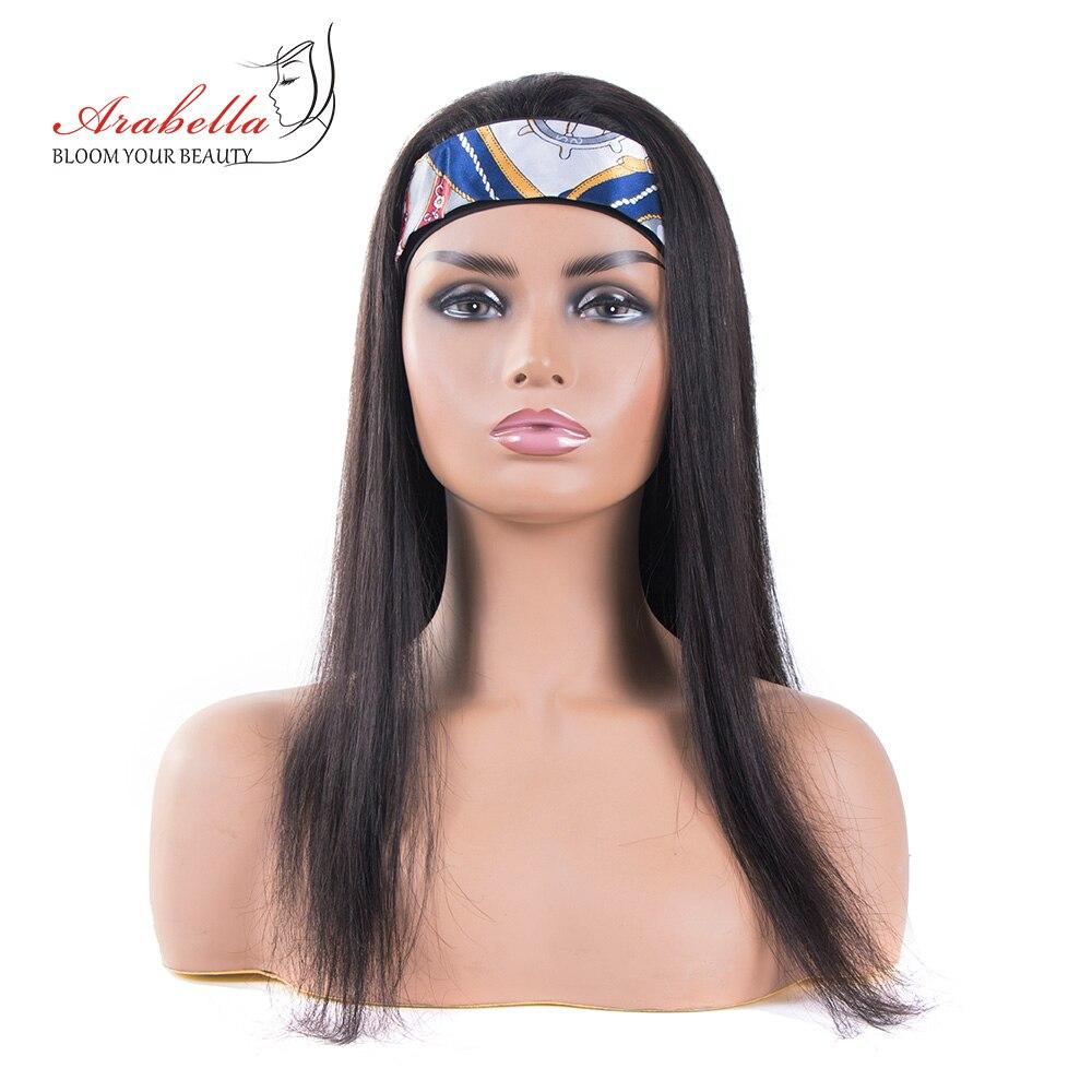 Headband Wig 100%  Wigs  Hair Arabella Full Machine Made Wig Easy to Install  Glueless Wig 2