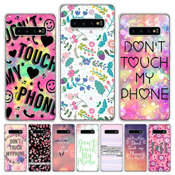 do-not-touch-my-phone-pink-flower-phone-case-for-samsung-galaxy-s6-s7-s8-s9-s10-s10e-s20ultra-plus-lite-j4-j6-j8plus-note-8-9-10