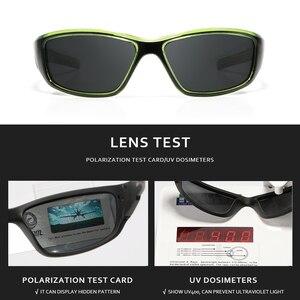 Image 4 - KDEAM Marke Angeln Gläser Outdoor Sport Sonnenbrille für Männer PC Rahmen HD Objektiv Polarisierte UV400 Brillen Klettern Sun Glassess