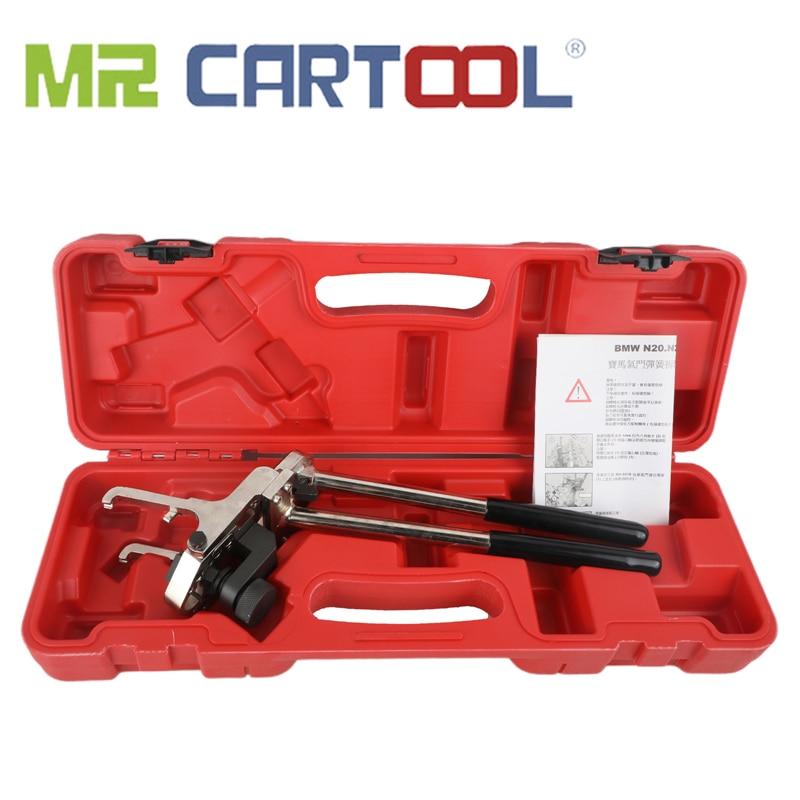 MR CARTOOL Valve Pressure Spring Installer//Remover Automotive Engines Valve Torsion Spring Disassembly Tool Compatible for BMW N20 N26 N52 N55 Spring Tool