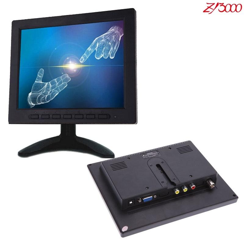 Новый 8 дюймов 4:3 СВЕТОДИОДНЫЙ монитор широкий экран HD монитор ЖК BNC видео монитор - 2