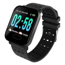 ساعة ذكية لنظامي IOS و Android ، ساعة ذكية مع التحكم في معدل ضربات القلب وضغط الدم ومقاومة للماء