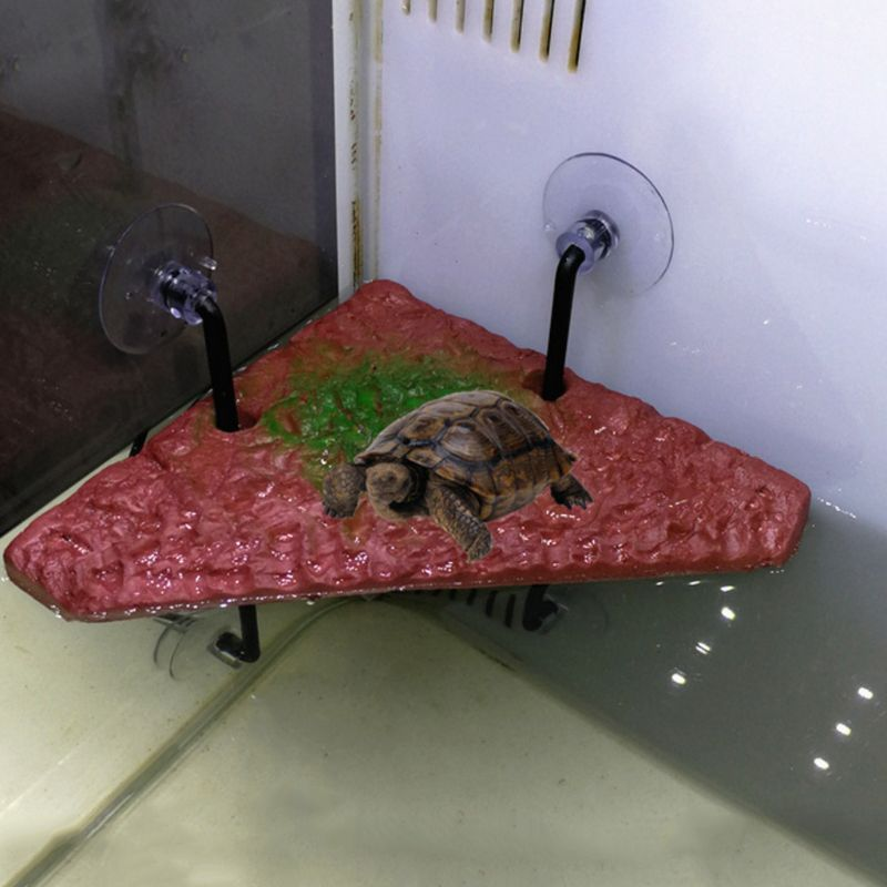 Pet Turtle Drying Back Board Fish Tank Automatic Floating Island Deck