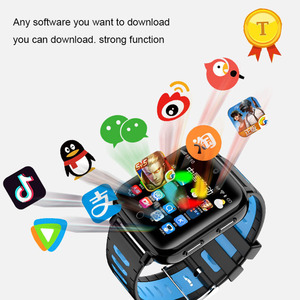 Image 5 - عالية الجودة whatsapp تويتر مكالمة فيديو متعددة اللغات smartwatch كاميرا أطفال 4G لتحديد المواقع ساعة ذكية بطاقة SIM الاطفال 4g lte ساعة طفل