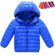 Coat Outwear Sport-Jacket Children Girls Boys Autumn Winter Cotton Warm