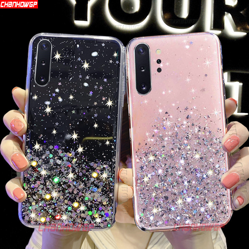 Bling Glitter Soft TPU Case For Huawei Honor 20 20S 10i 10 Lite 9X Pro 8C 8S 8A 8X 7X 7A 7C View 30 20 10 Play Sequins Cover(China)