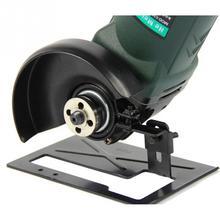 Amoladora angular de Metal ajustable, Base de soporte de equilibrio de corte grueso para herramientas de madera DIY