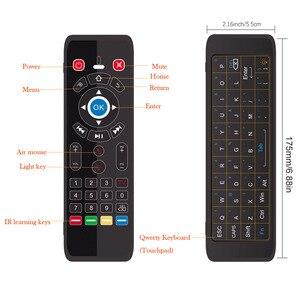Image 3 - T16 M commande vocale Air souris 2.4GHz sans fil Google Microphone télécommande IR apprentissage pour Android TV Box PC PK G10S G20 G30