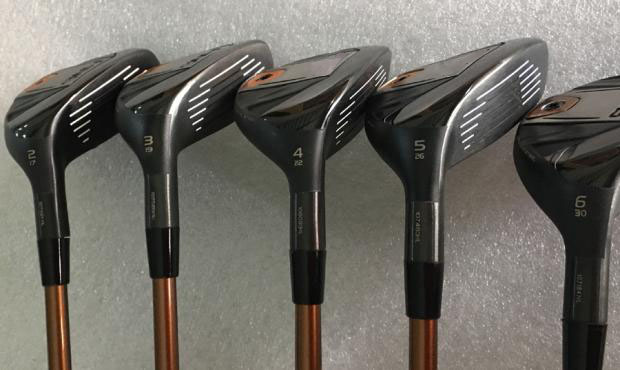 New G400 Hybrid G400 Golf Hybrid G400 Golf Clubs 17/19/22/26/30 Degrees R/S Graphite Shaft With Head Cover Free Shipping