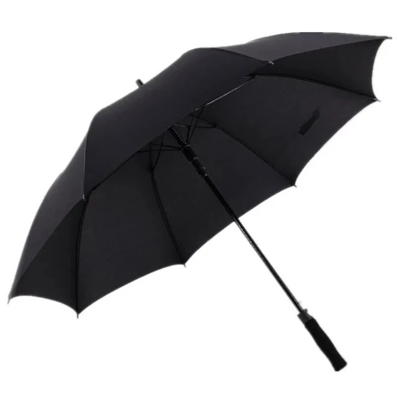 Currently Available Extra-large Double 8 Bone Golf Umbrella Customizable Long Handle Straight Pole Business Advertising Umbrella